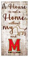 Maryland Terrapins House is Not a Home Sign