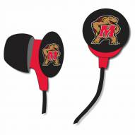 Maryland Terrapins iHip Earbuds