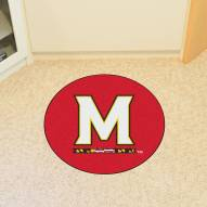 Maryland Terrapins Lacrosse Rounded Mat