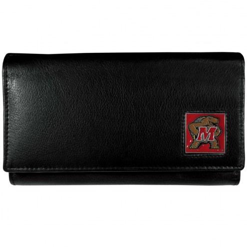Maryland Terrapins Leather Women's Wallet