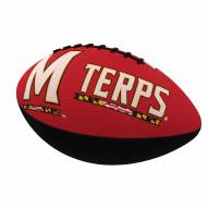 Maryland Terrapins Logo Junior Rubber Football