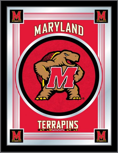 Maryland Terrapins Logo Mirror