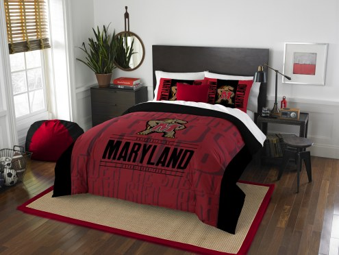 Maryland Terrapins Modern Take Full/Queen Comforter Set
