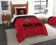 Maryland Terrapins Modern Take Twin Comforter Set