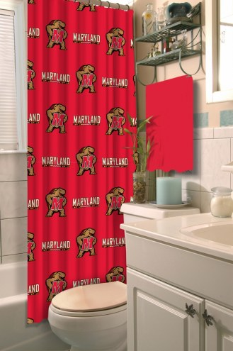 Maryland Terrapins Shower Curtain
