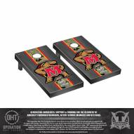 Maryland Terrapins Operation Hat Trick Stained Cornhole Game Set