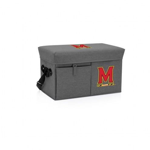 Maryland Terrapins Ottoman Cooler & Seat