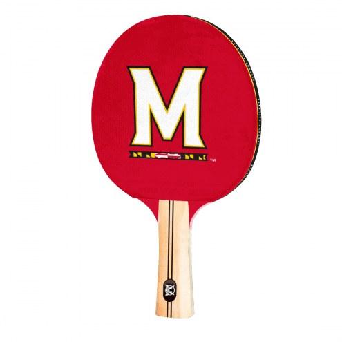 Maryland Terrapins Ping Pong Paddle