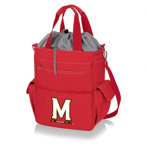 Maryland Terrapins Red Activo Cooler Tote
