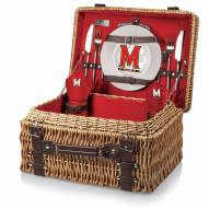 Maryland Terrapins Red Champion Picnic Basket