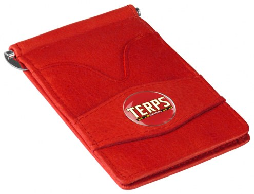 Maryland Terrapins Red Player's Wallet