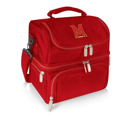 Maryland Terrapins Red Pranzo Insulated Lunch Box