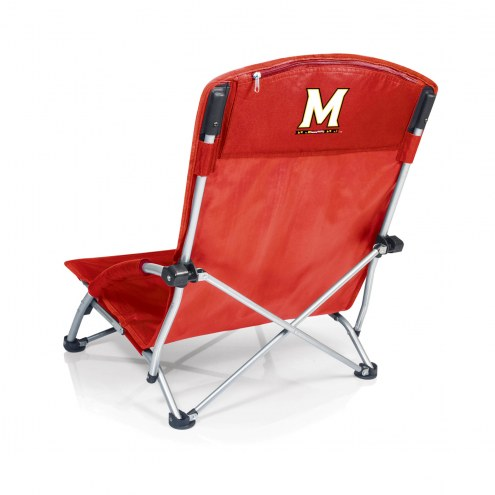 Maryland Terrapins Red Tranquility Beach Chair