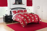 Maryland Terrapins Rotary Queen Bed in a Bag Set