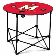 Maryland Terrapins Round Folding Table