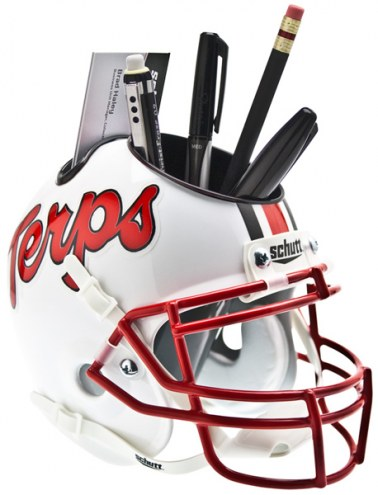 Maryland Terrapins Schutt Football Helmet Desk Caddy