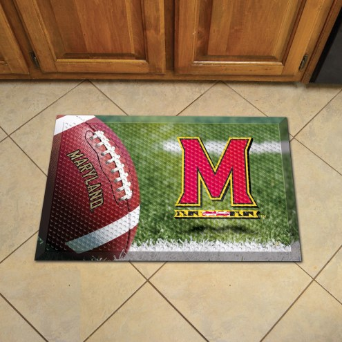 Maryland Terrapins Scraper Door Mat