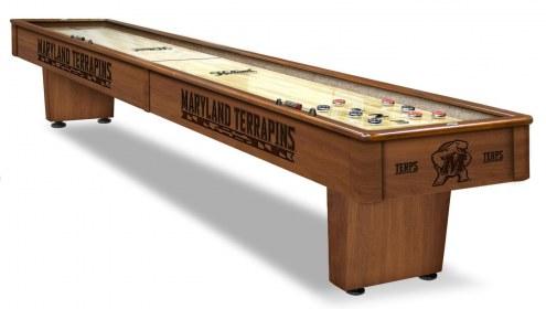 Maryland Terrapins Shuffleboard Table