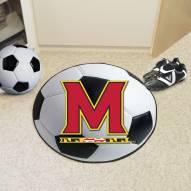 Maryland Terrapins Soccer Ball Mat