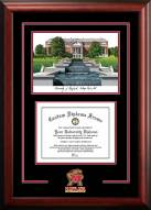 Maryland Terrapins Spirit Graduate Diploma Frame