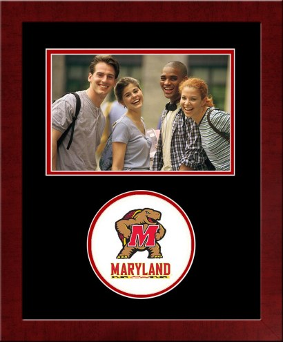 Maryland Terrapins Spirit Horizontal Photo Frame