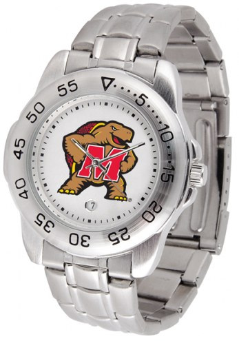 Maryland Terrapins Sport Steel Men's Watch