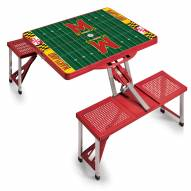 Maryland Terrapins Sports Folding Picnic Table
