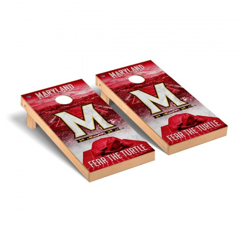 Maryland Terrapins Stadium Cornhole Game Set