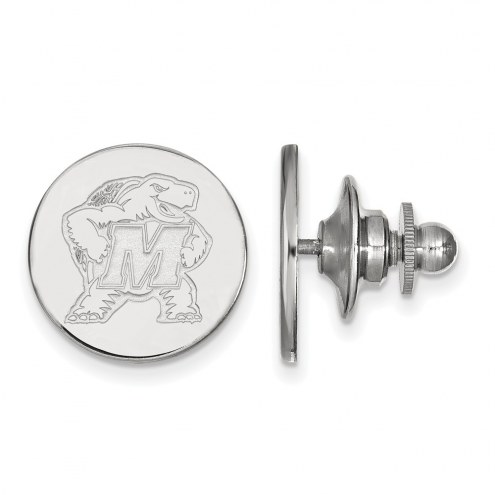 Maryland Terrapins Sterling Silver Lapel Pin