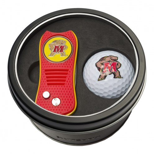 Maryland Terrapins Switchfix Golf Divot Tool & Ball