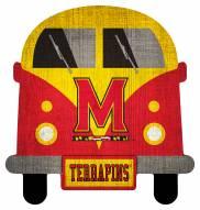 Maryland Terrapins Team Bus Sign