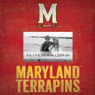 """Maryland Terrapins Team Name 10"""" x 10"""" Picture Frame"""