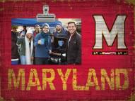 Maryland Terrapins Team Name Clip Frame