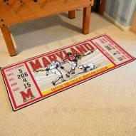 Maryland Terrapins Ticket Runner Rug