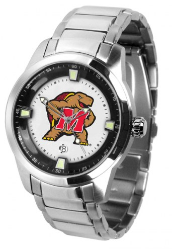 Maryland Terrapins Titan Steel Men's Watch
