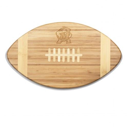 Maryland Terrapins Touchdown Cutting Board