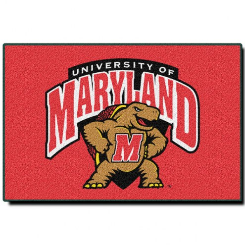 "Maryland Terrapins 20"" x 30"" Tufted Rug"