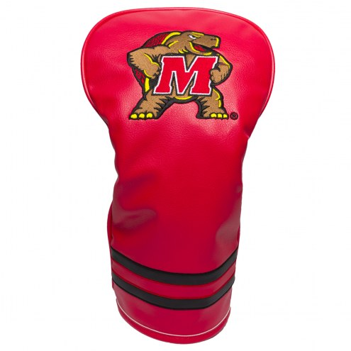 Maryland Terrapins Vintage Golf Driver Headcover