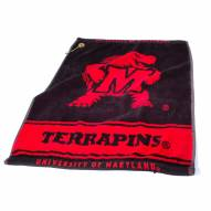 Maryland Terrapins Woven Golf Towel