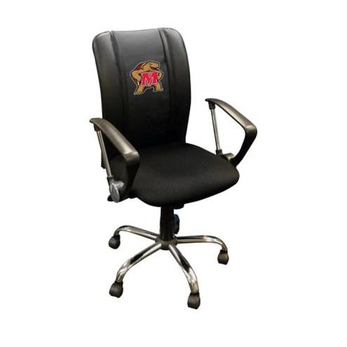 Maryland Terrapins XZipit Curve Desk Chair