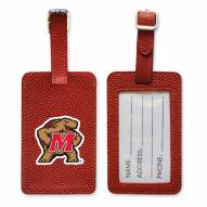 Maryland Terrapins Basketball Luggage Tag