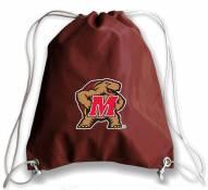 Maryland Terrapins Football Drawstring Bag