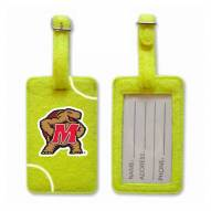 Maryland Terrapins Tennis Luggage Tag