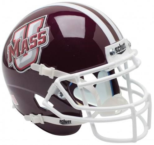 Massachusetts Minutemen Alternate 1 Schutt Mini Football Helmet