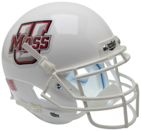 Massachusetts Minutemen Alternate 2 Schutt Mini Football Helmet