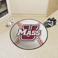 Massachusetts Minutemen Baseball Rug