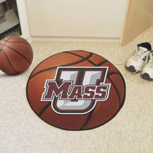 Massachusetts Minutemen Basketball Mat