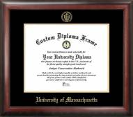 Massachusetts Minutemen Gold Embossed Diploma Frame
