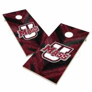 Massachusetts Minutemen Herringbone Cornhole Game Set
