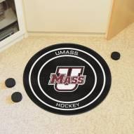 Massachusetts Minutemen Hockey Puck Mat